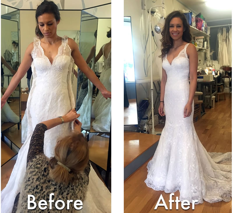 Wedding Alteration: Clothing Alterations Roswell GA