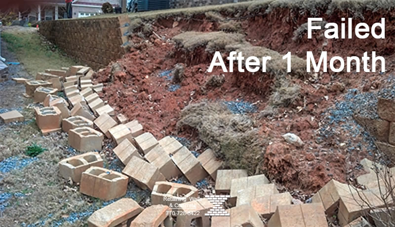 Retaining Wall Builder In Roswell Professional Crew