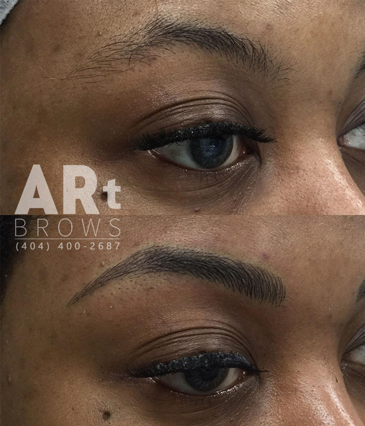 Microblading alpharetta ga discounts on 3d eyebrows for Eyebrow tattoo microblading