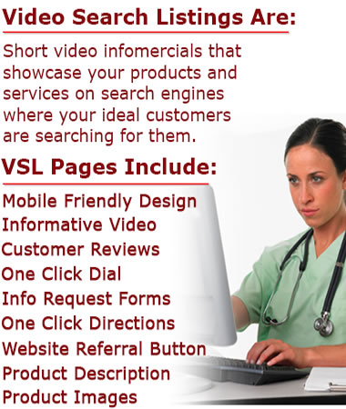 video search listings